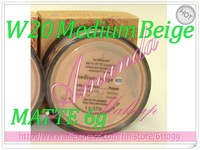 1pcs W20 Medium Beige 6g MATTE Bare Escentuals BareMinerals MINERAL Foundation Broad Spectrum SPF 15 0.21OZ new Click/Lock