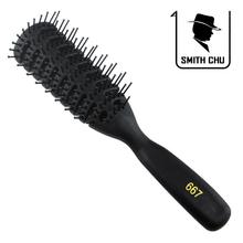 Costelas profissionais pentear cabelo pente anti estático pente fish bone hair estilo pente 667(China (Mainland))