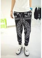 2013 summer han ktz boy cross male casual pants