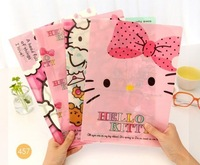 Cute Hello Kitty Paper Holder Hello kitty File Holder Paper Organizer for School and Office Book Cover