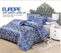 High Cost Performance Luxury Silk Jacquard Bedding Set, 4pcs bedding. Free shipping!!!