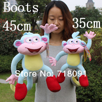 "Dora The Explorer Plush Toy Monkey Boots for Kid's Gifts,10""/14"",1PC"