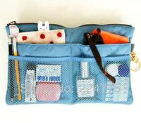 COSMETIC BAG FASHION MAKEUP SLIM INNER BAG IN BAG FOR HANDBAG SHOULDER BAG TOTE