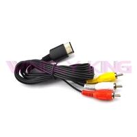 10pcs a lot AV Video Audio Cable for SEGA Dreamcast