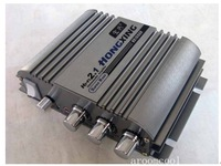 HX168HA  300W+300W Super Bass HiFi 2.1 Stereo Audio Car Amplifier/ Auto Sound Enlarger
