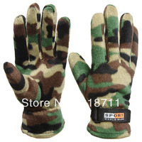 Hot sale 2014  new Fleece winter outdoor cycling gloves protective gloves cycling equipment