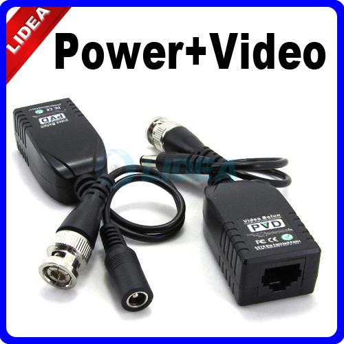 UTP Network Power Video Balun CAT5 CCTV Accessories HK B-07(China (Mainland))