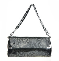 Bags 2013 women's genuine leather handbag leopard print fashionable casual one shoulder chain female small bags