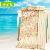 Towels are air conditioning cotton 100% cotton summer is cool double single child siesta quilt