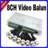 CCTV 8 Channel Video Balun Passive BNC Female to UTP RJ45 Camera DVR CN B-23