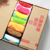 new 2013 free shipping 2 box 7-day love female socks sock slippers female 7 double boxed