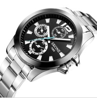 2013 new fashion men watch Waterproof quartz watch free shipping