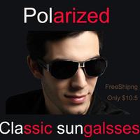 2014 Free shipping Polarized Sunglasses Driver Mirror Sunglasses Men Fishing Mirror Oculos De Sol 8459