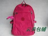KP-B012 FREE SHIPPING 2013 fashion waterproof nylon leisure brand designer backpack with monkey bag