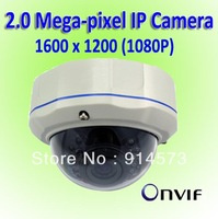 CCTV 2 Megapixel Vandal Dome Network Surveillance Camera,camara ip megapixel,Support Onvif,POE (optional)