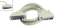 DB37 Serial Male to Male Connector Printer Extension Cable 1.8M