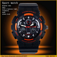 Hot-sale  men's sports watch 30 meters waterproof watches men's watch dress watch free shipping, free shipping
