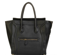 Free shipping! Women's black bat bag