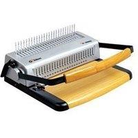 Heavy duty comb binding machine pumping gd5600 full knife fishing aprons punching machine a4 text binding machine