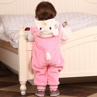 Winter romper one piece clothes thickening autumn and winter baby clothes 0 - 1 - 2 years old