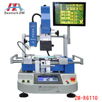 HOT seller Vision system high-precision ZM-R6110 quick soldering station to repair laptop desktop xbox sp sp2