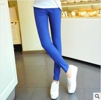 Korean Style Autumn Winter Candy-colored Pants Feet Pantyhose Leggings 6 colors