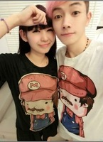2013 lovers summer short-sleeve T-shirt mary all-match basic shirt