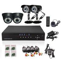 CCTV 4CH 960H DVR 4PCS Sony Effio 700TVL IR Outdoor Weatherproof CCTV Camera 36 LEDs Home Security SONY 700TVL 960H DVR System