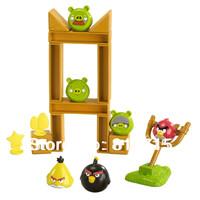 Plastic Bird Cartoon Toys Plastic Slingshot Bird Toy Free Shipping