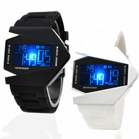 50M Waterproof watch Men's watch fashion female students LED Electronic watch children watch boy jelly table movement