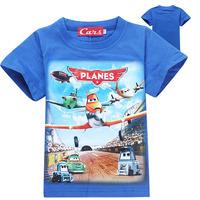 wholesale 2014 new brand children t shirts children's wear PLANES DUSTY boy t shirt kid clothing good quatily 100% cotton