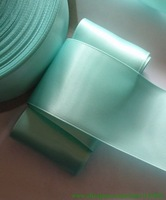 100 yards 1.5 inches Single Face Satin Ribbon in Aqua R13-53,Free Shipping