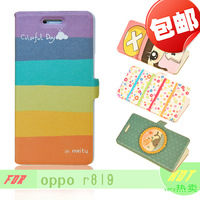 For oppo   mobile phone r819t protective case mobile phone case phone case protective case cartoon case