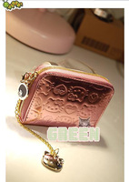 Free shipping!New 2013 Autumn  Pu Leather Hello Kitty  Case For Credit Card Women Brand Holder