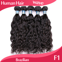 "hair products brazilian virgin hair extensions human body weave wavy weaves hair weft more weaves wave 14""-24"" F1"