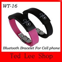 Wholesale 2013 new design Bluetooth Bracelet With Vibration, Silicone Bluetooth Wristband, Vibrating Bluetooth Bracelet