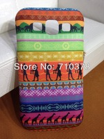 Mixed color! silicone lighter phone cases for samsung galaxy s4 i9500 cloth art and silicone Free Shipping