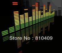 90*25cm sound active equalizer car sticker / led  car sticker /equalizer el car sticker/ muisc el car sticker Free Shipping
