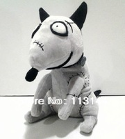 Free Shipping 1pcs 23cm=9inch Frankenweenie Sparky Plush tos,Christmas gift for Children gift