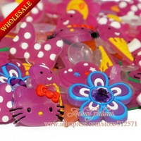 Wholesale change colort pvc shoe accessory Thousands of  hole shoe decoration/charms/ornament for your choice DHL Free Shipping