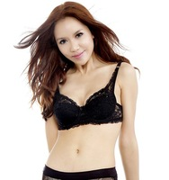Retail sexy lace bra thin breathable anti- sagging B & C CUP