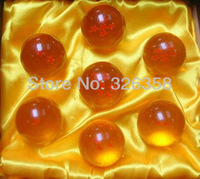 New In Box DragonBall 7 Stars Crystal Ball Set of 7 pcs Dragon Ball Z Balls Complete set/toy for kids+free shipping
