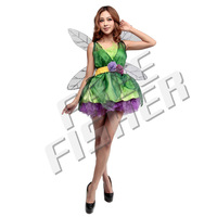Cosplay Women's Sexy Costume Elf with Wings Flower CP0021