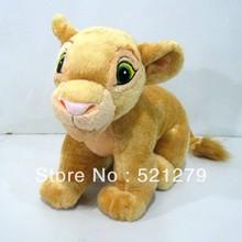 Free shipping 1pcs 35cm=13.7inch the Lion King stuffed plush doll, nala plush soft toys for kids(China (Mainland))