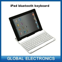 Bluetooth keyboard for Ipad Ipad2 Ipad3 Ipad4 wireless keyboard aluminum keyboard tablet cases