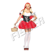 Cosplay Women's Sexy Little Red Riding Hood Costume CP0015