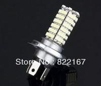 2pcs Car 120 LED 3528 SMD H4 White Fog Driving Parking Light Lamp Bulb free shipping
