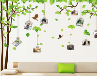 Cartoon wall stickers memory tree,Size60*90cm:, phototree like star