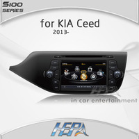 HEPA NEW A8 1GMHZ Car DVD Player for Kia Ceed 2013 2012 with USB SD TV MP3 music 1080P Disc memory support car camera 3G WIFI