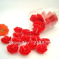 Free Shipping 35pcs/Lot  Bottled mini red rose candle the wedding candle wedding candle birthday Floating candles